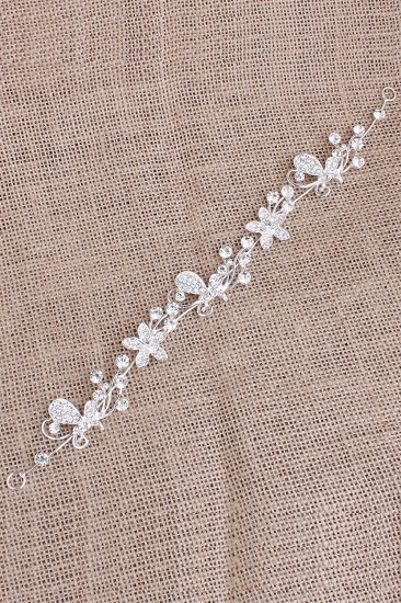 BMbridal Glamourous Alloy Special Occasion Party Hairpins Headpiece with Rhinestone_5