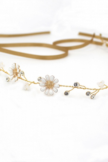 BMbridal Floral Alloy Party Headbands Headpiece with Rhinestone_11