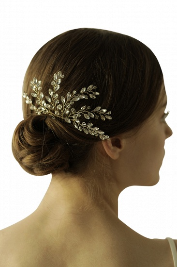 BMbridal Elegant Alloy Party Combs-Barrettes Headpiece with Crystal_1