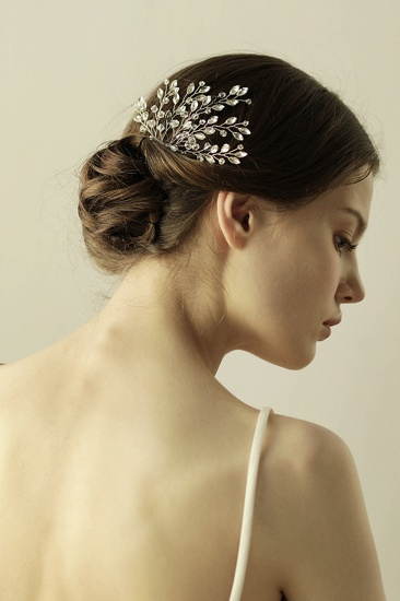 BMbridal Elegant Alloy Party Combs-Barrettes Headpiece with Crystal_7