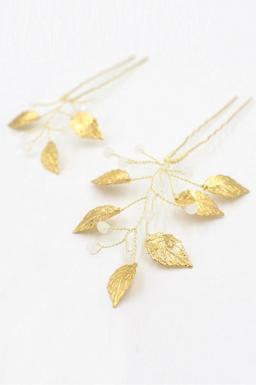 BMbridal Beautiful Alloy Daily Wear Hairpins Headpiece with Imitation Pearls_1