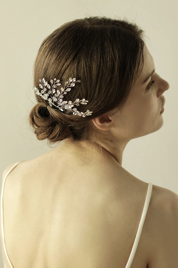BMbridal Elegant Alloy Party Combs-Barrettes Headpiece with Crystal_8