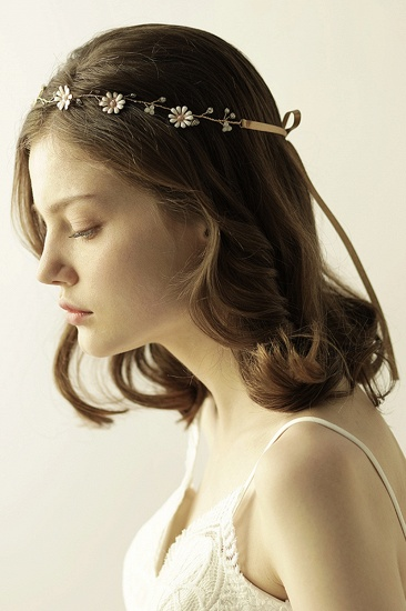 BMbridal Floral Alloy Party Headbands Headpiece with Rhinestone_3
