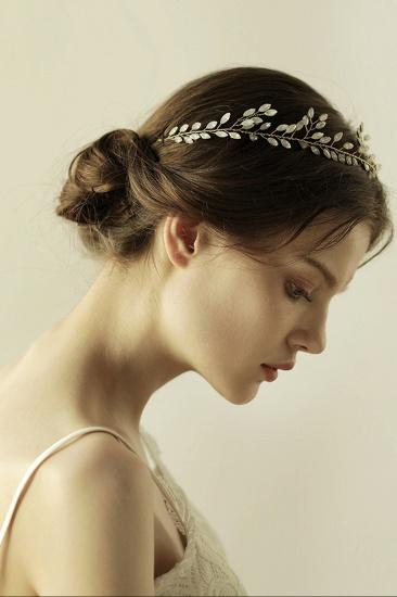 Elegant Alloy Party Headbands Headpiece with Crystal_6