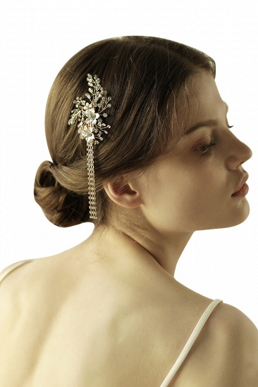 BMbridal Beautiful Alloy Special Occasion Hairpins Headpiece with Rhinestone_3