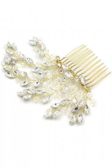 BMbridal Elegant Alloy Party Combs-Barrettes Headpiece with Crystal_10