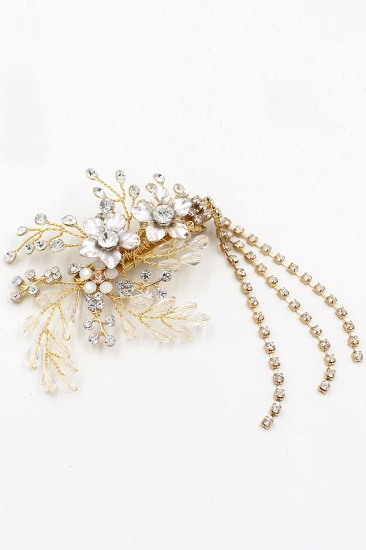 BMbridal Beautiful Alloy Special Occasion Hairpins Headpiece with Rhinestone_10