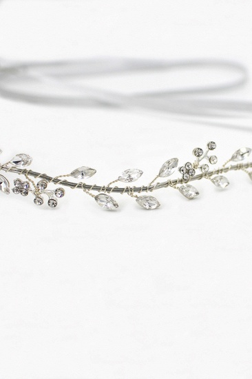 Glamourous Alloy Rhinestone Special Occasion Wedding Headbands Headpiece with Crystal_11
