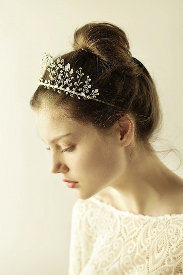 BMbridal Elegant Alloy Rhinestone Special Occasion Wedding Hairpins Headpiece with Crystal_9