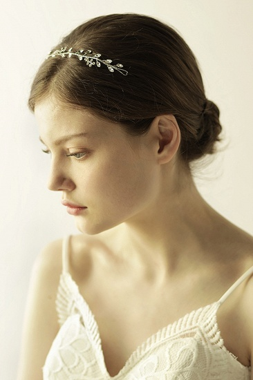 Glamourous Alloy Rhinestone Special Occasion Wedding Headbands Headpiece with Crystal_4