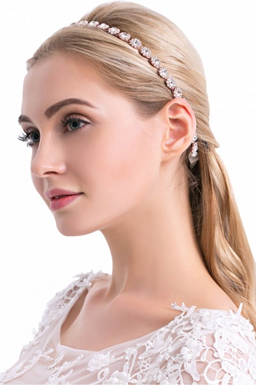 BMbridal Pretty Alloy Daily Wear Headbands Headpiece with Rhinestone