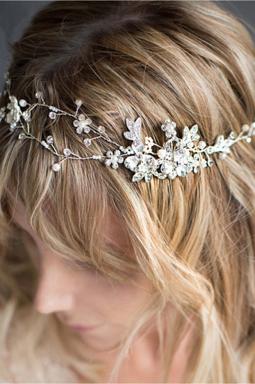 BMbridal Beautiful Alloy Imitation Pearls Special Occasion Hairpins Headpiece with Rhinestone_5