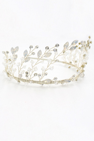 BMbridal Elegant Alloy Rhinestone Special Occasion Wedding Hairpins Headpiece with Crystal_2
