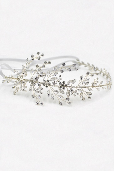 BMbridal Glamourous Alloy Rhinestone Special Occasion Wedding Headbands Headpiece with Crystal_2