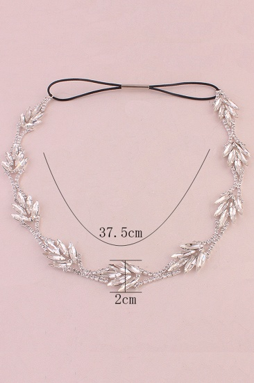 Glamourous Alloy Rhinestone Special Occasion Party Headbands Headpiece with Crystal_6