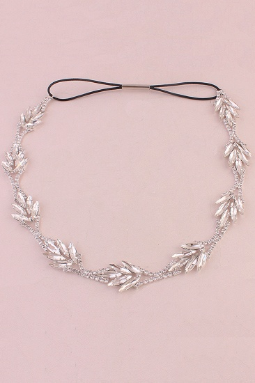 Glamourous Alloy Rhinestone Special Occasion Party Headbands Headpiece with Crystal_5
