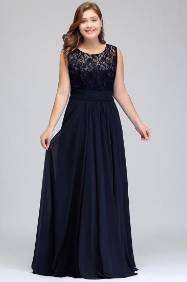 BMbridal Sleeveless Lace Long Chiffon Prom Dress Online_9