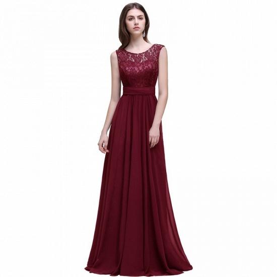 BMbridal Sleeveless Lace Long Chiffon Prom Dress Online_2
