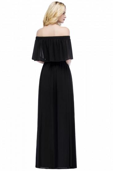 BMbridal A-line Off-the-Shoulder Chiffon Bridesmaid Dress_6