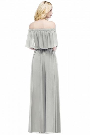 BMbridal A-line Off-the-Shoulder Chiffon Bridesmaid Dress_10