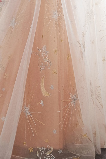BMbridal Charming Sleeveless Embrodiery Long prom Dress With Lace-up_10