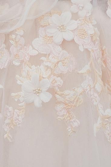BMbridal Off-the-shoulder Appliques Ball Gown Wedding Dress Online_12