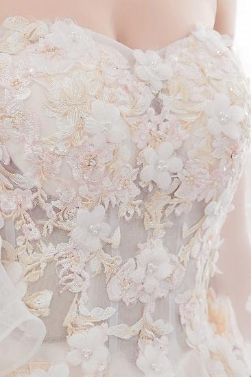 BMbridal Off-the-shoulder Appliques Ball Gown Wedding Dress Online_11