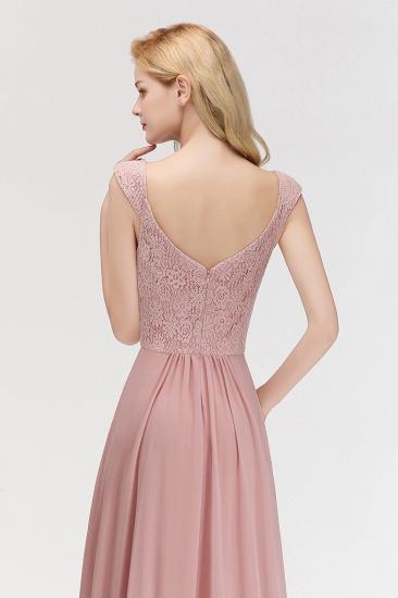 BMbridal Elegant Lace Sweetheart Bridesmaid Dress Online Dusty Rose Chiffon Wedding Party Dress_7
