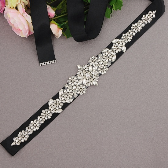 BMbridal Gorgeous Satin Beadings Wedding Sash_13