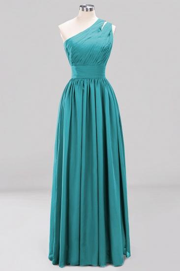 Stylish One-shoulder Sleeveless Long Junior Bridesmaid Dresses Cheap_32