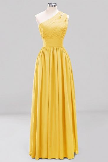 Stylish One-shoulder Sleeveless Long Junior Bridesmaid Dresses Cheap_17