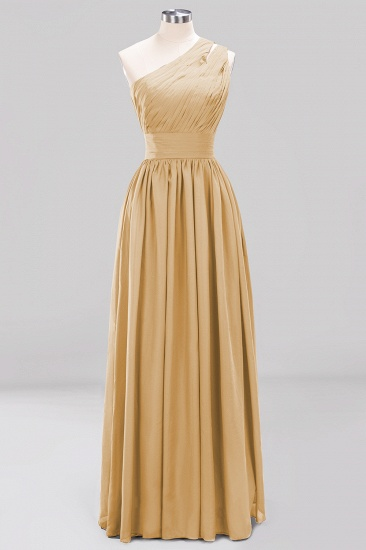 Stylish One-shoulder Sleeveless Long Junior Bridesmaid Dresses Cheap_13