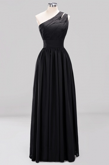 Stylish One-shoulder Sleeveless Long Junior Bridesmaid Dresses Cheap_29