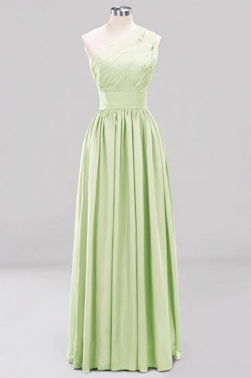 Stylish One-shoulder Sleeveless Long Junior Bridesmaid Dresses Cheap_35