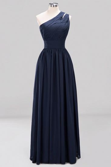 Stylish One-shoulder Sleeveless Long Junior Bridesmaid Dresses Cheap_28