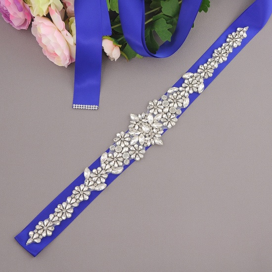 BMbridal Gorgeous Satin Beadings Wedding Sash_12