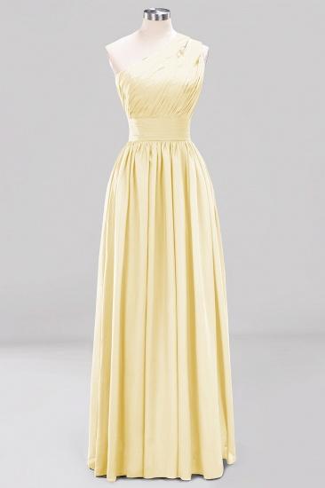 Stylish One-shoulder Sleeveless Long Junior Bridesmaid Dresses Cheap_18