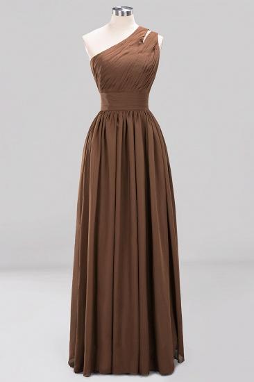 Stylish One-shoulder Sleeveless Long Junior Bridesmaid Dresses Cheap_12