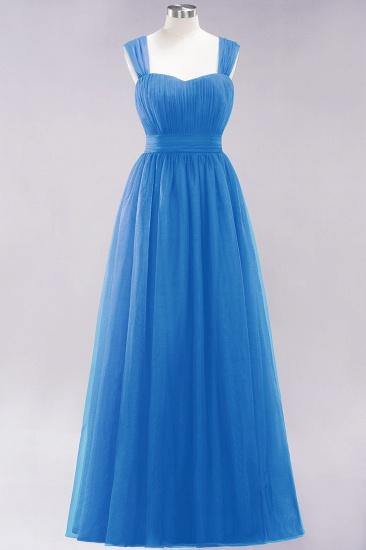 BMbridal Gorgeous Sweetheart Straps Ruffle Burgundy Bridesmaid Dresses Online_24