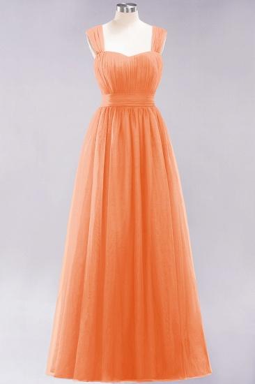 BMbridal Gorgeous Sweetheart Straps Ruffle Burgundy Bridesmaid Dresses Online_15