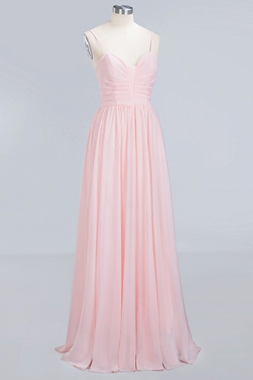 BMbridal Chiffon Spaghetti-Straps Sleeveless Affordable Bridesmaid Dress Online_11