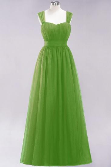 BMbridal Gorgeous Sweetheart Straps Ruffle Burgundy Bridesmaid Dresses Online_32