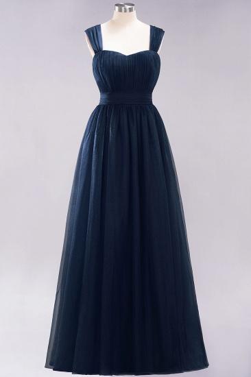 BMbridal Gorgeous Sweetheart Straps Ruffle Burgundy Bridesmaid Dresses Online_27