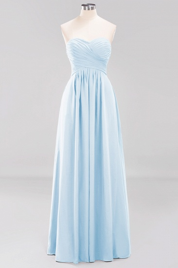 Vintage Sweetheart Long Grape Affordable Bridesmaid Dresses Online_22