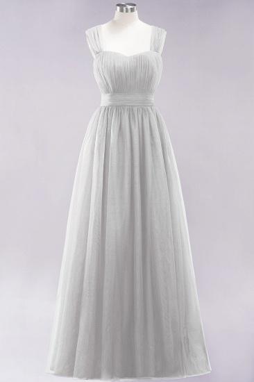 BMbridal Gorgeous Sweetheart Straps Ruffle Burgundy Bridesmaid Dresses Online_29
