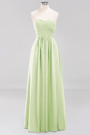 Vintage Sweetheart Long Grape Affordable Bridesmaid Dresses Online_33