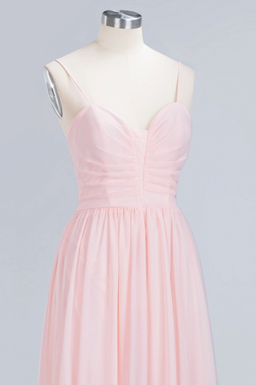 BMbridal Chiffon Spaghetti-Straps Sleeveless Affordable Bridesmaid Dress Online_13