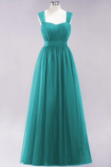 BMbridal Gorgeous Sweetheart Straps Ruffle Burgundy Bridesmaid Dresses Online_31