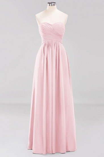 Vintage Sweetheart Long Grape Affordable Bridesmaid Dresses Online_3