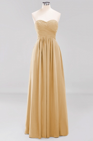 Vintage Sweetheart Long Grape Affordable Bridesmaid Dresses Online_13